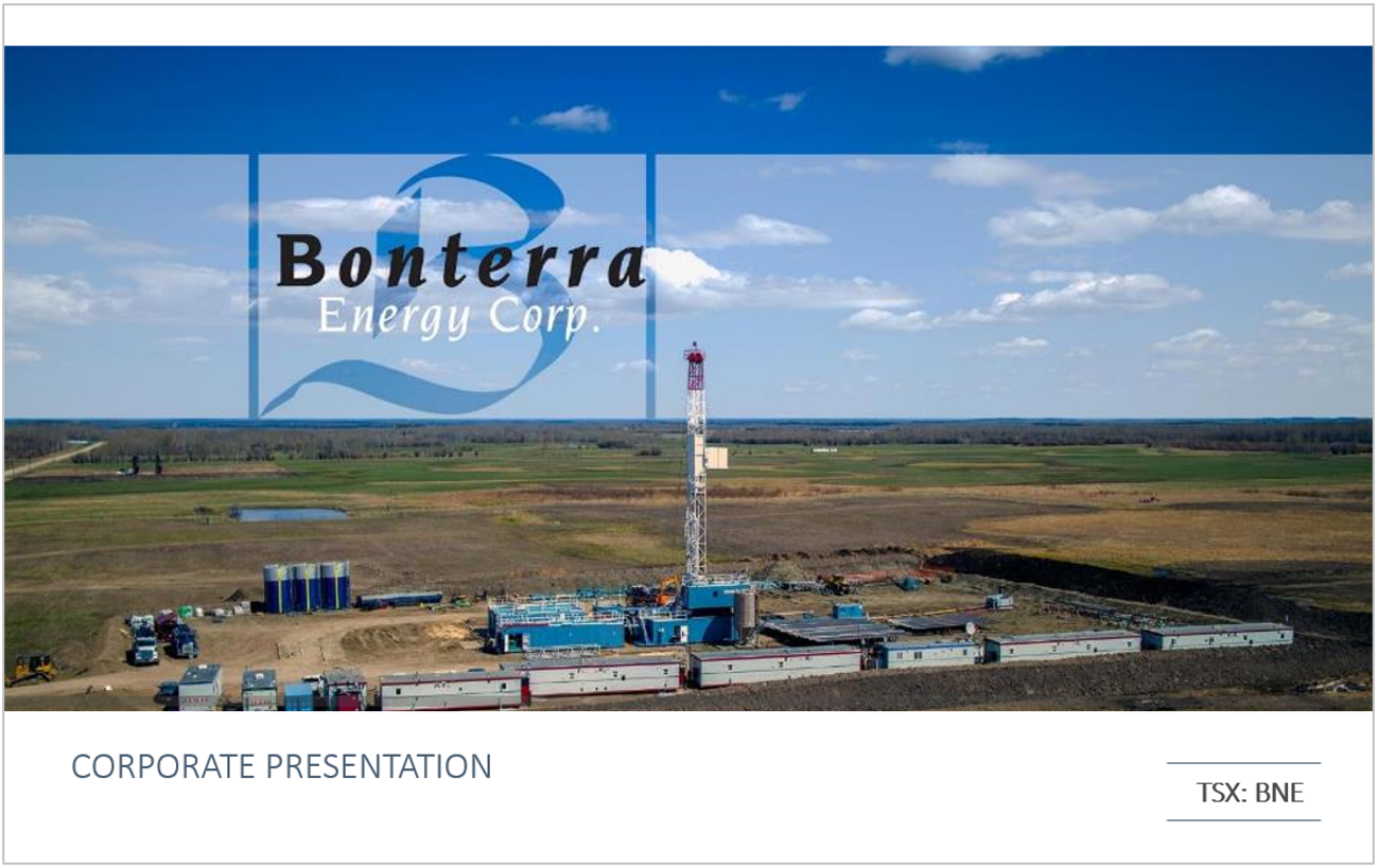 Bonterra Corporate Presentation